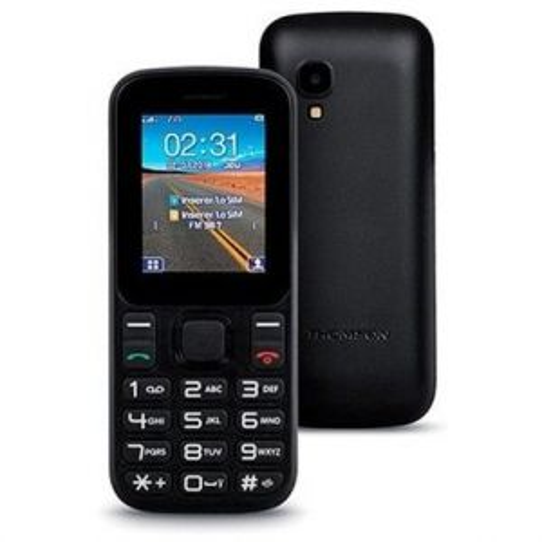 Teléfono Thomson TLINK T12 CAMARA NEGRO