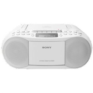 Reproductor portátil Sony RADIO CD/CASSETTE BOOMBOX CFDS70W.CED BLANCO