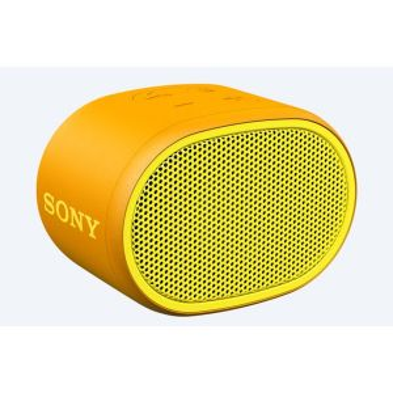 Altavoz portátil Sony SRS-XB01 Mono portable speaker Amarillo