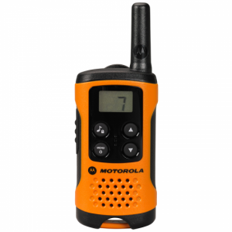 Walkie Talkie Motorola - T41 8 CANALES NARANJA