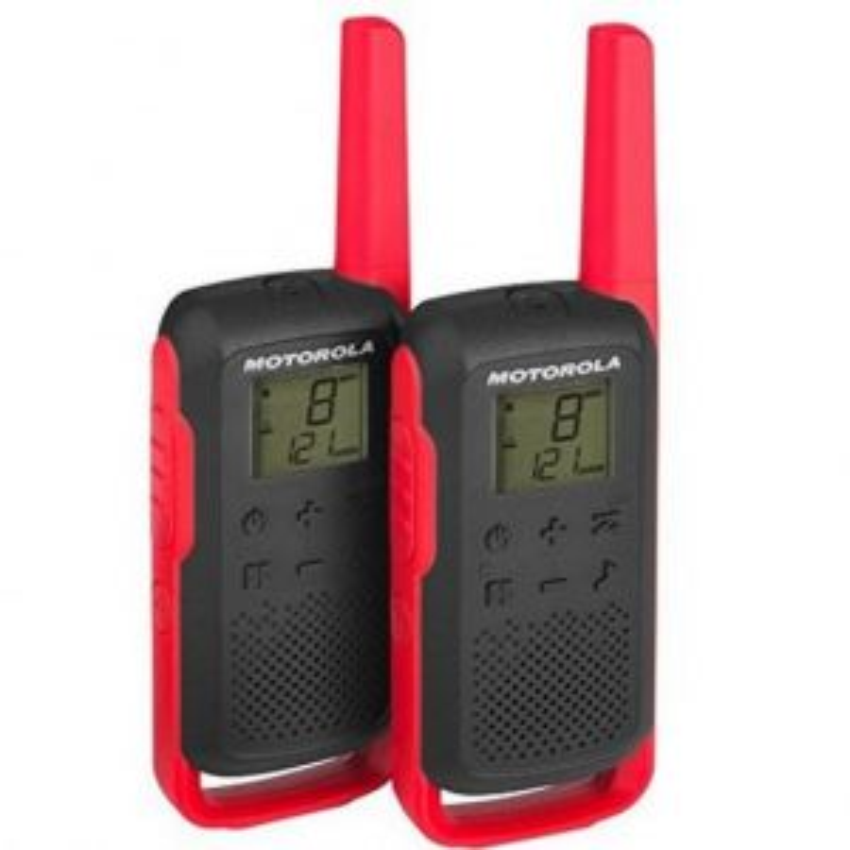 Walkie Talkie Motorola TLKR T62 ROJO