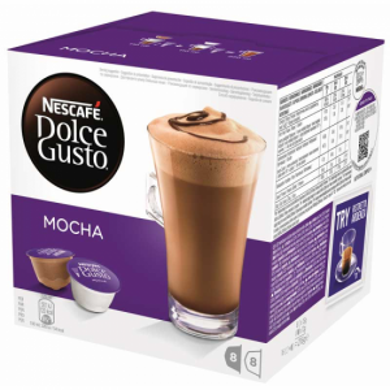 Cápsulas de café Dolce gusto ESTUCHE MOCHA 16CAP