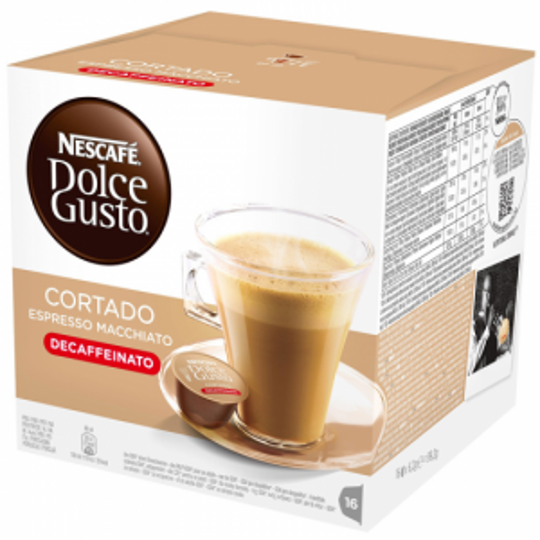Cápsulas de café Dolce gusto ESTUCHE CORTADO DESINADO 16CAP