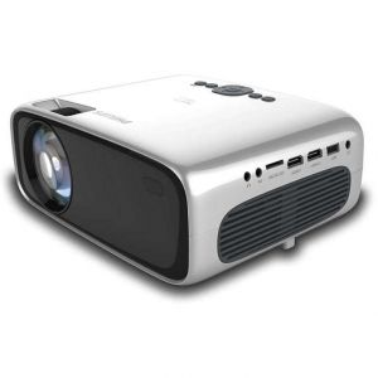 Proyector Neopix Philips Ultra 2 video portátil LCD 720p (1280x720) Negro, Plata