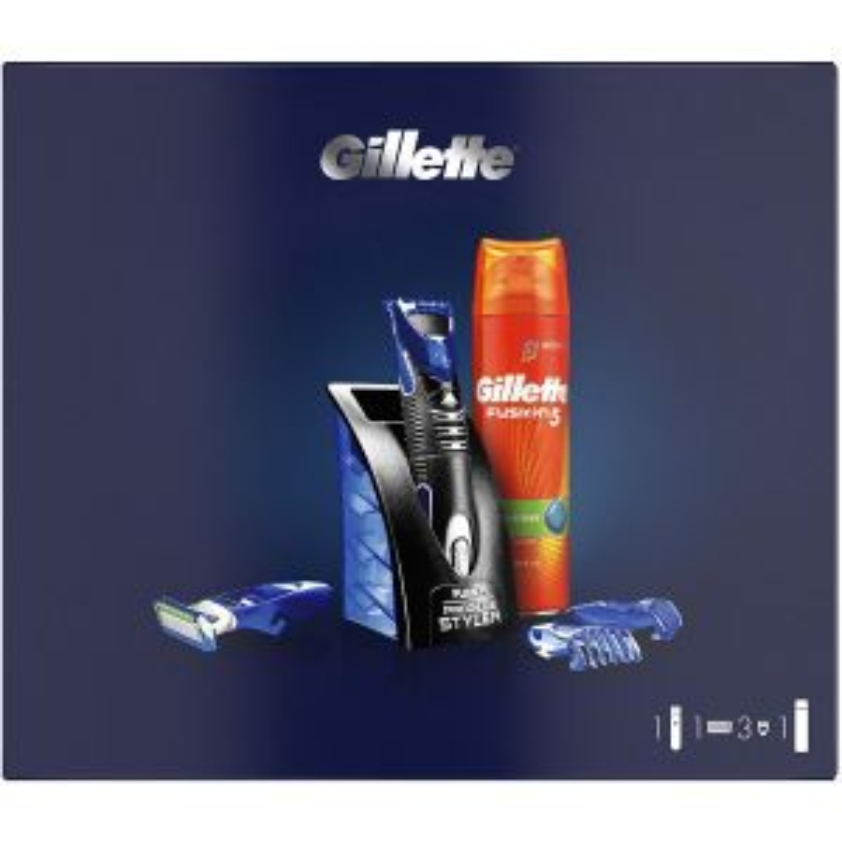 Afeitadora Gillette FUSION STYLER + GEL