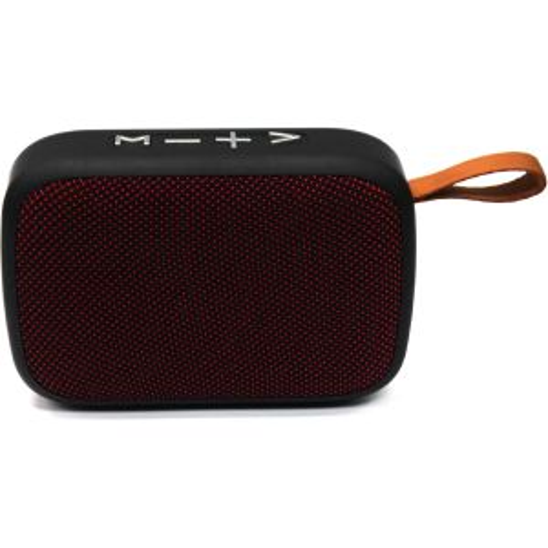 Altavoz Swiss+go Bluetooth Portatil - CLIO BT-005 Rojo 3W, FM, MicroSD, Funcion manos s, bateria 300 mAh, 115x40x80 mm