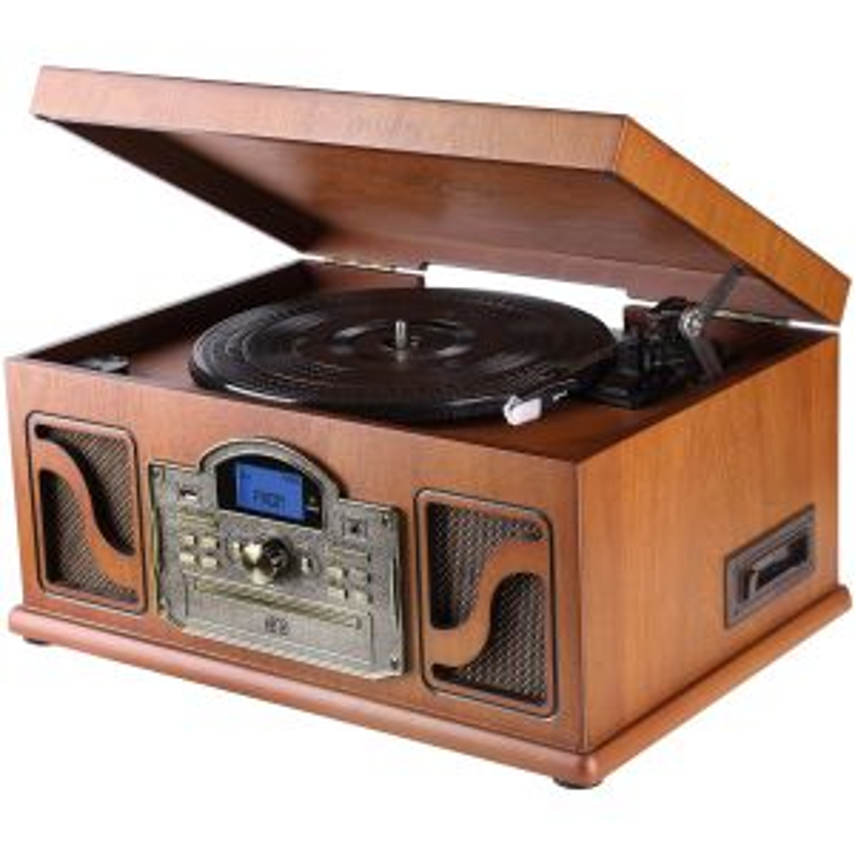 Tocadiscos Lauson GIRADISCOS CL146 CASSETE CD/MP3 BLUETOOTH