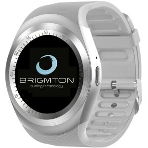 Smartwatch Brigmton RELOJ SMART BWATCH-BT7-B BLANCO TELEFONO