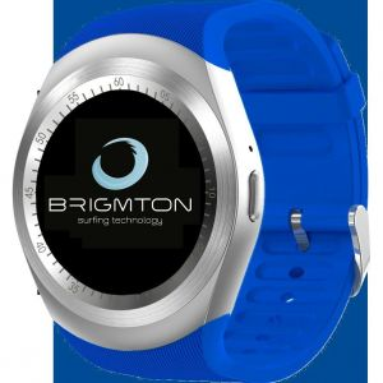 Smartwatch Brigmton BWATCH-BT7 BLUETOOTH AZUL