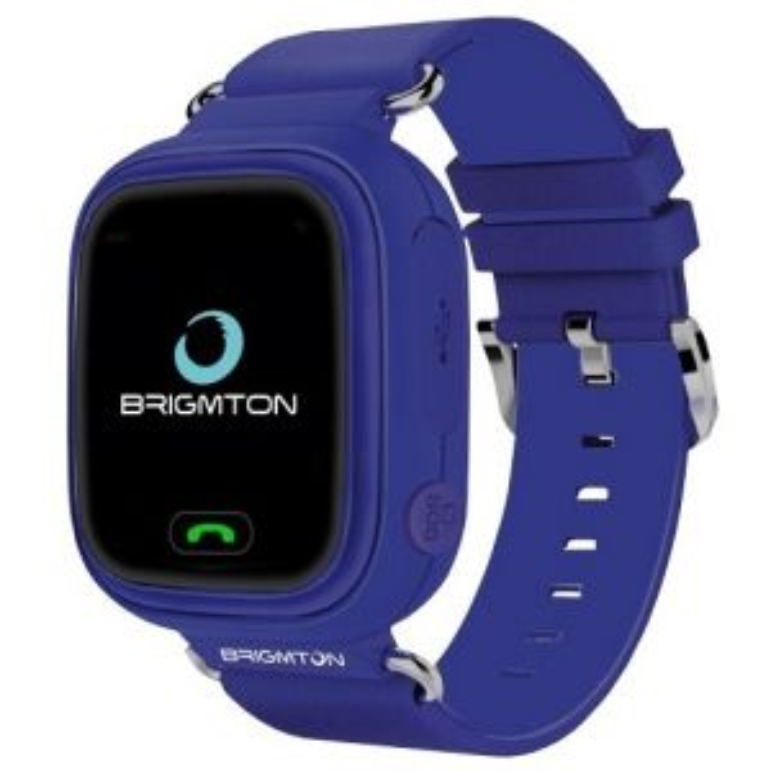 Smartwatch Brigmton BWATCH-KIDS LOCALI GPS MORADO