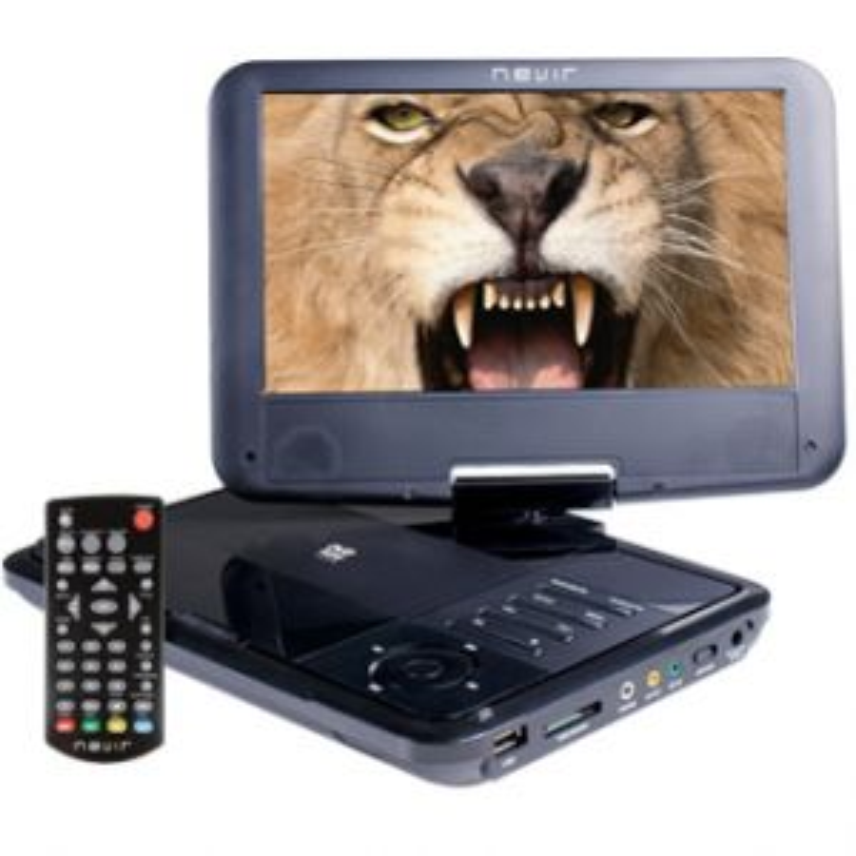 Reproductor DVD portátil Nevir NVR-2781PCU 9