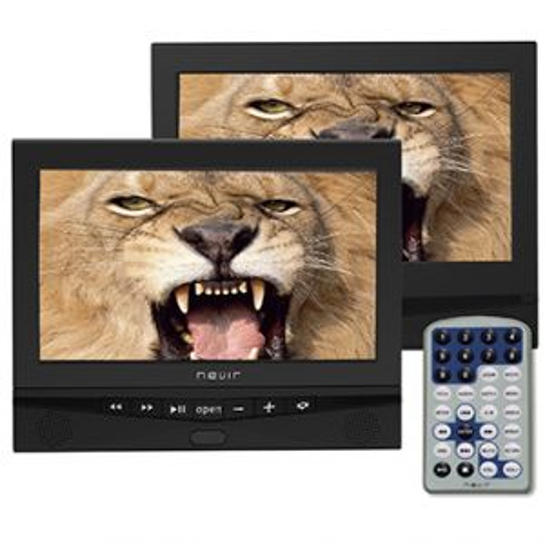 Reproductor DVD portátil Nevir NVR2778PDCU DOBLE PANTALLA