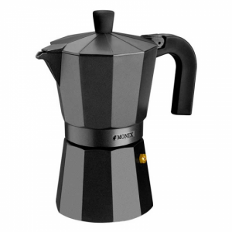 Cafetera Monix VITRO NOIR 6T
