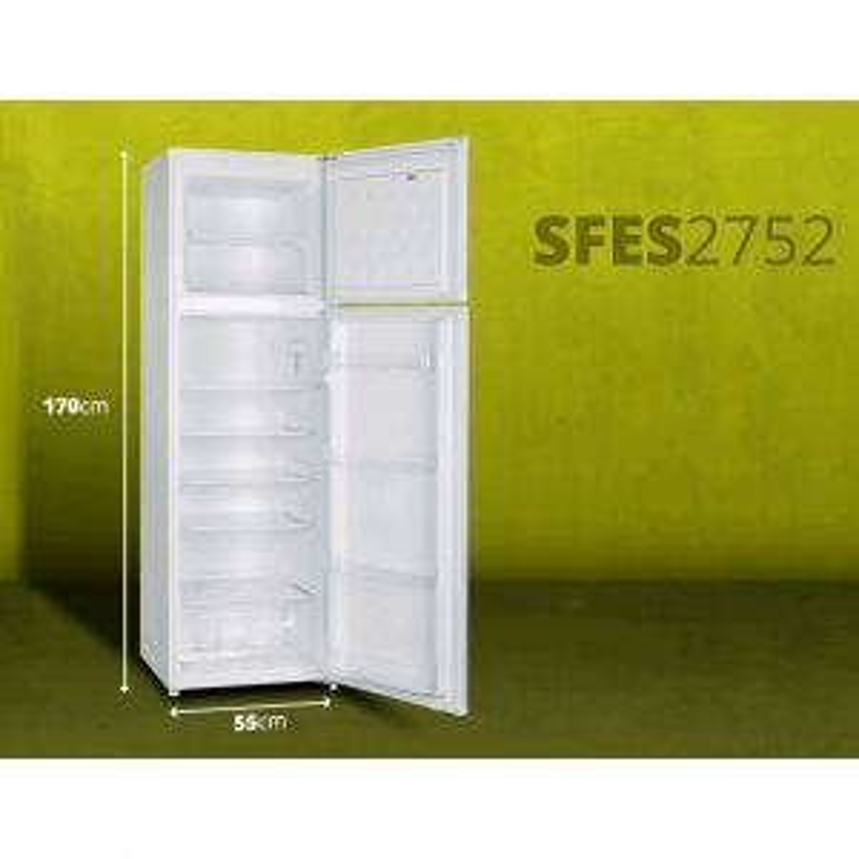Frigorífico 2 puertas Schneider FRIGO SFES2752 170X55 A+