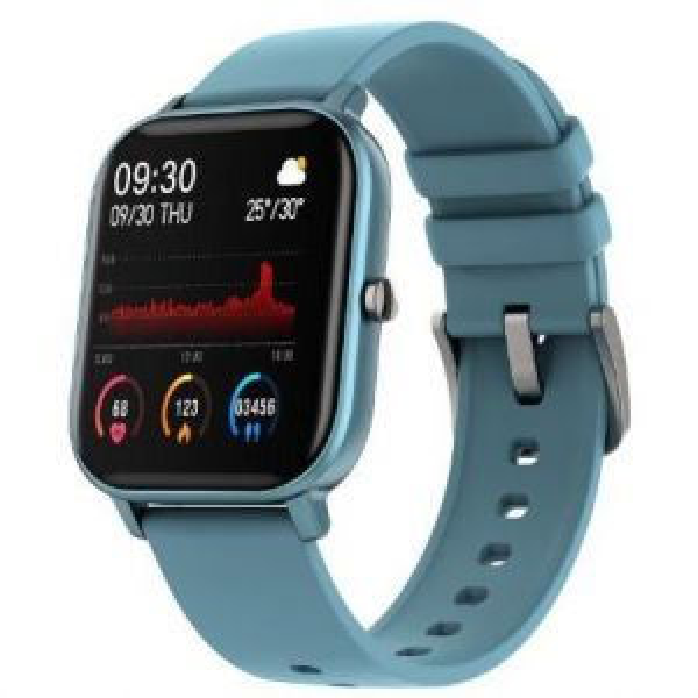 Smartwatch DCU RELOJ SMART 34157037 CURVED GLASS AZUL