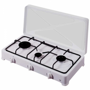 Placa de gas Vitrokitchen HORNILLO 300BB 3F BUTANO