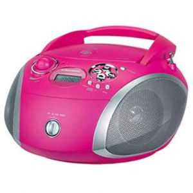 Reproductor portátil Grundig RADIO CD RCD 1445 GDP6310 ROSA
