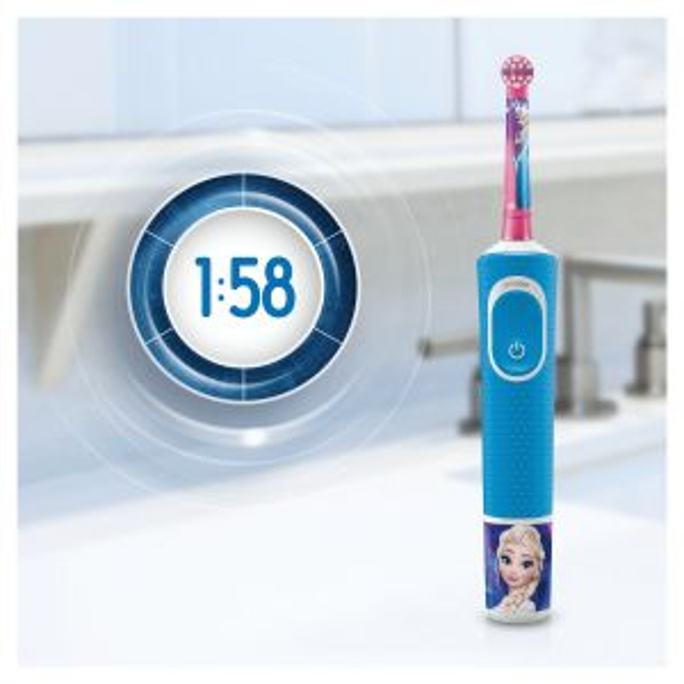 Oral-b 80324393 cepillo eléctrico para dientes Niño Azul, Rosa