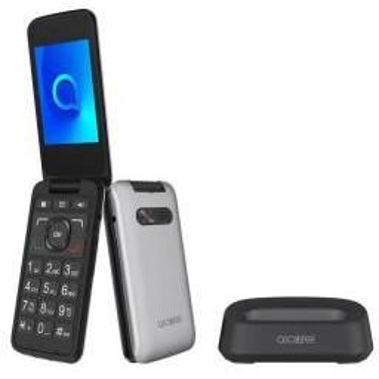 Teléfono Alcatel 30.26X PLATA