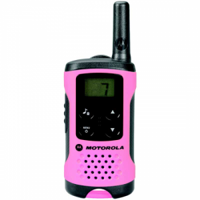 Walkie Talkie Motorola TLKR T41 ROSA