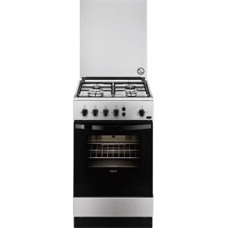 Horno y encimera Zanussi ZCG510G1XA Independiente de gas Acero cocina