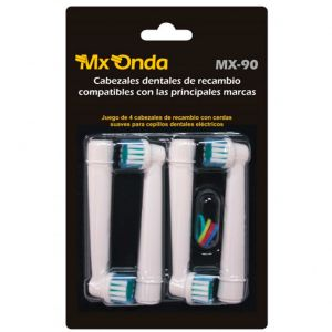 Mxonda RECAMBIO DENTAL MX90 4 CABEZAS