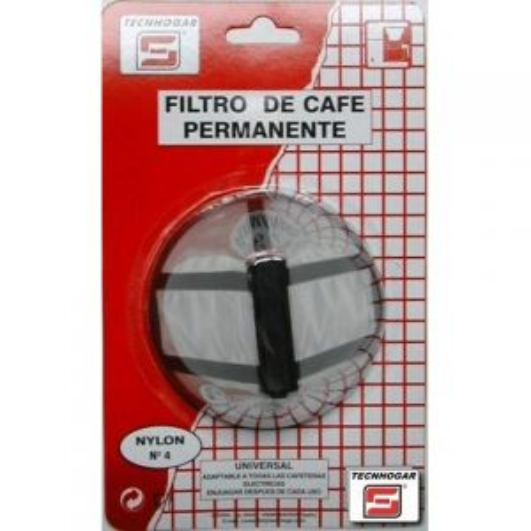 Tecnhogar FILTRO CAFETERA PERMANTE N 4 00777