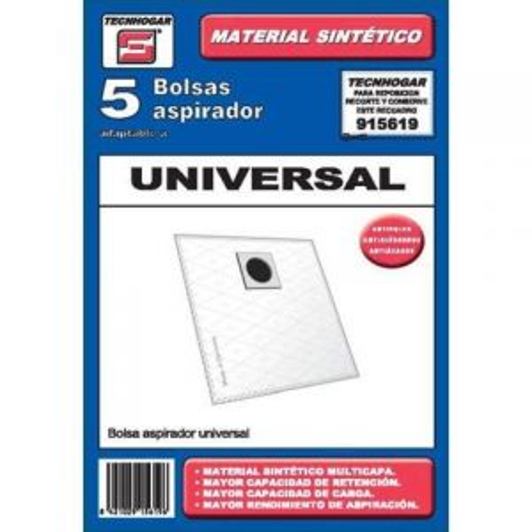 Tecnhogar BOLSA ASP. UNIVERSAL 915619 SINTETICA
