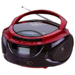 Reproductor portátil Sunstech CRUSM390RD