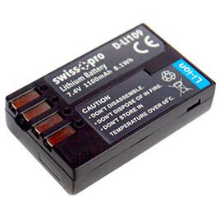 Swiss+pro Bateria - D-LI109 1100mAh Para Pentax