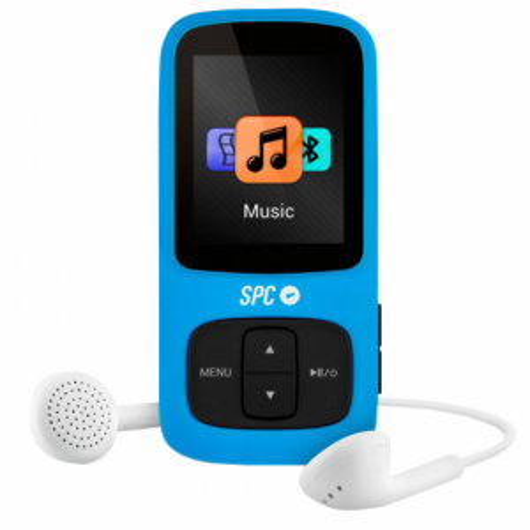 Reproductor portátil SPC Pure Sound Bluetooth /MP4 Azul 8578A